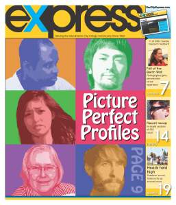 The front page of the Nov. 24 edition of the Express.